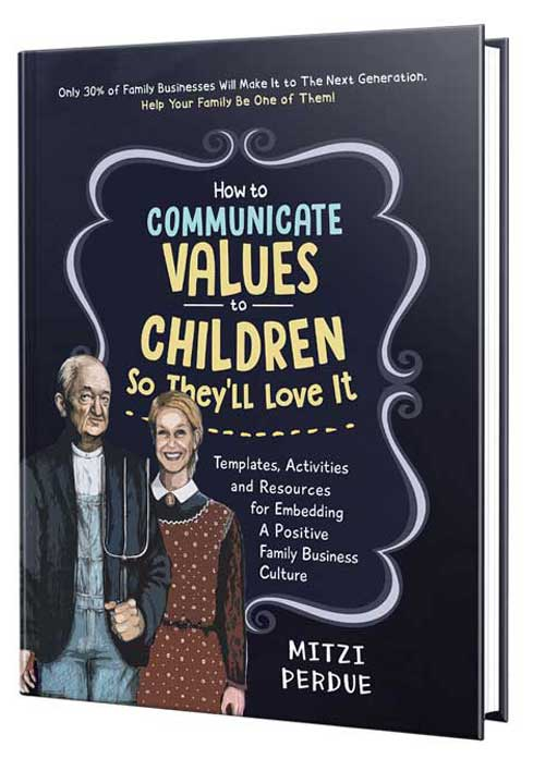 Book cover for How To Communicate Values to Children by Mitzi Perdue