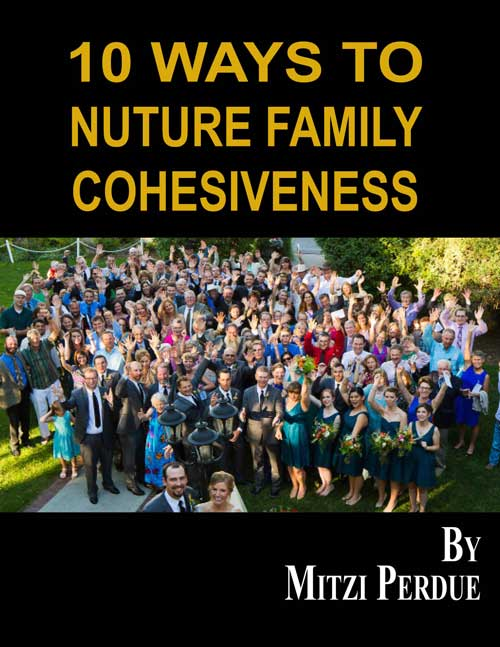 PDF Cover for '10 Ways to Nurture Family Cohesiveness'